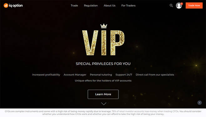 IQoption VIP Account